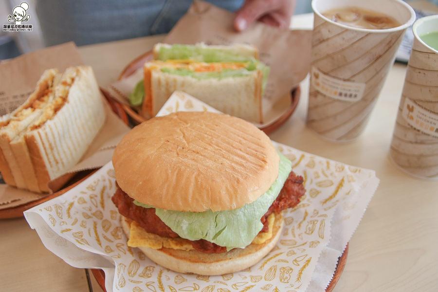 早安公雞 早餐 高雄美食 高雄必吃 早午餐 老麵 老麵糰 學生 校園美食