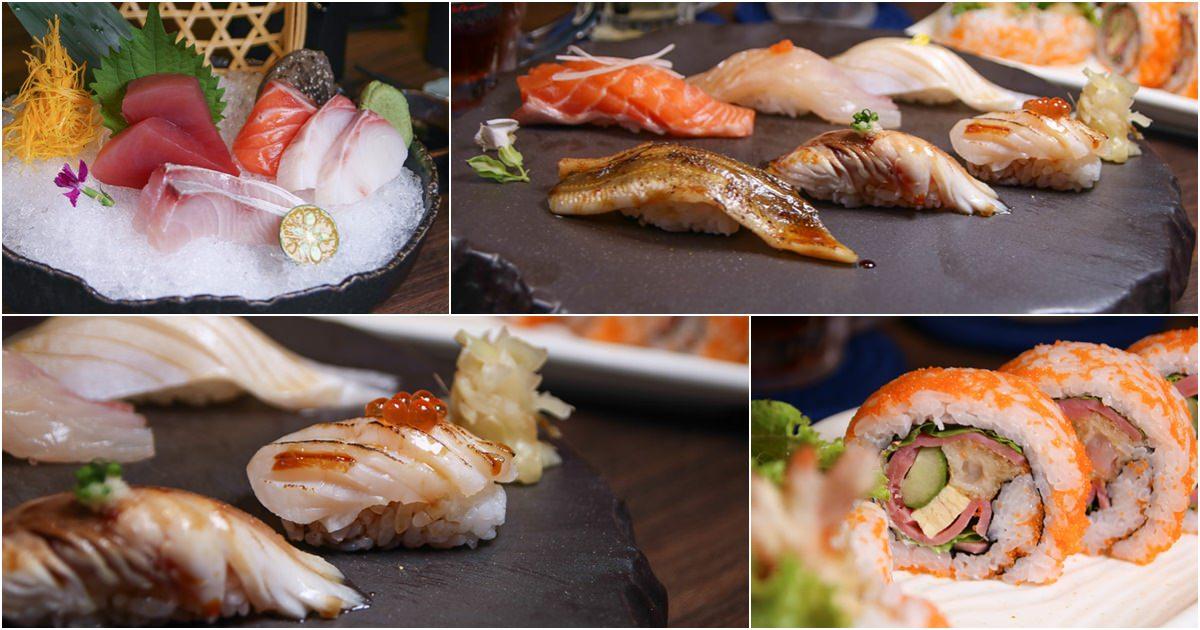 氣勢磅礡的墨吉 日本料理,價位親民、環境霸氣、北高雄日本料理推薦