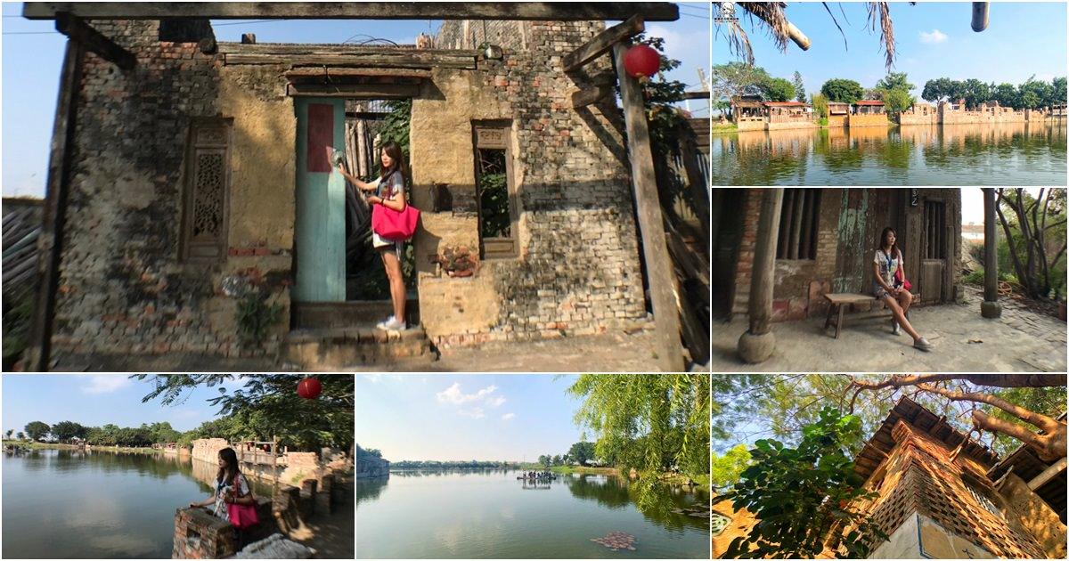 一秒進入古色古香的古鎮,懷舊復古村落的老塘湖藝術村