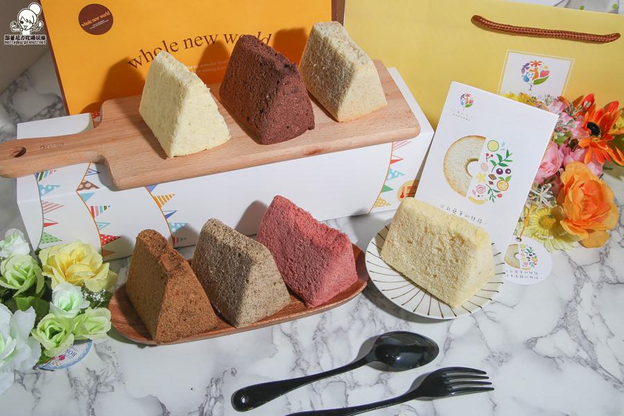 七個小日子之清新多口味之戚風蛋糕,台中超人氣必買伴手禮Mini乳酪球