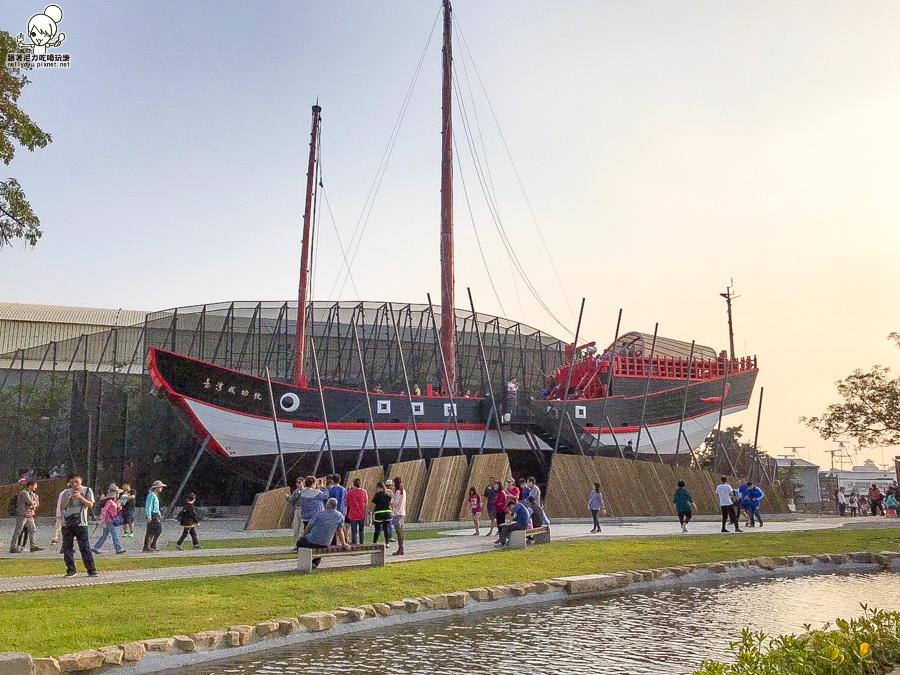台南安平新亮點:1661臺灣船園區、鄭成功仿古船台灣成功號