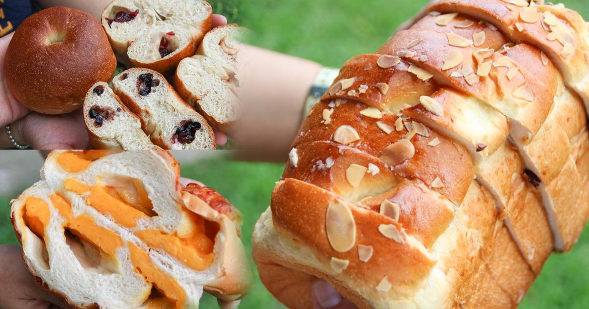 挖掘屏東最狂麵包店|一週只開兩天秒殺的小恩家手作、麵包、烘焙