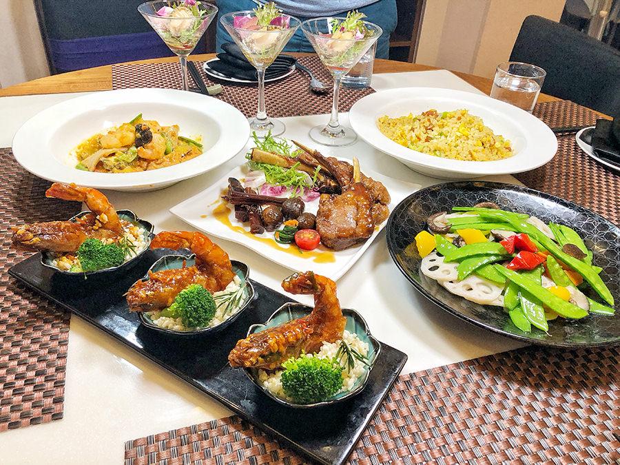 高雄景觀餐廳 推薦 融 中式料理,新潮菜色團圓、聚餐首選 x 高雄美食 、百萬夜景