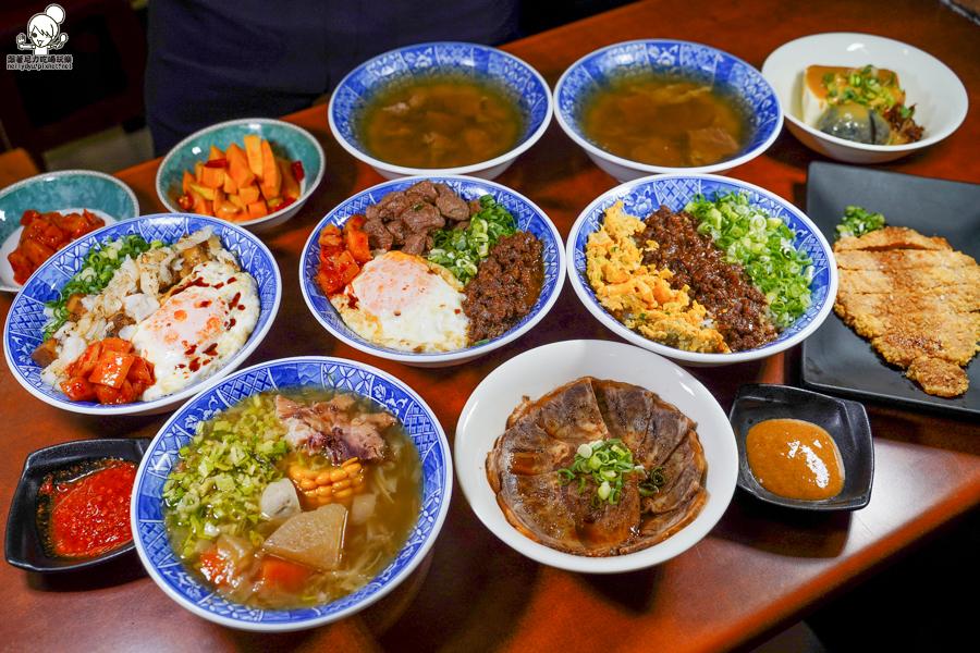 高雄最狂牛B的旻哥古早味飯湯,每日限量牛B飯、招牌必點銷魂牛叉燒、經典牛肉燥|宵夜也可吃