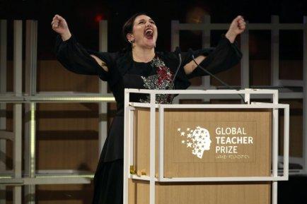 World's Best Teacher, Wins $1m (Photos)