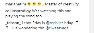 Tiwa Savage Ignores Husband, Teebillz' Birthday