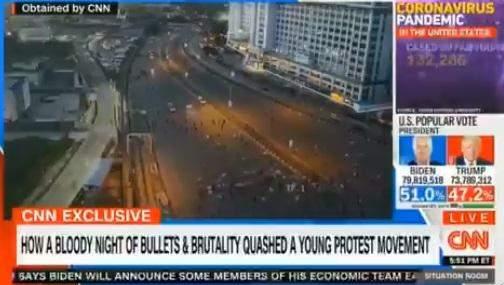 CNN lekki shooting update