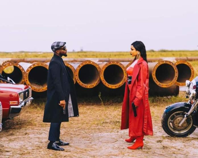 Nengi Jowo music video