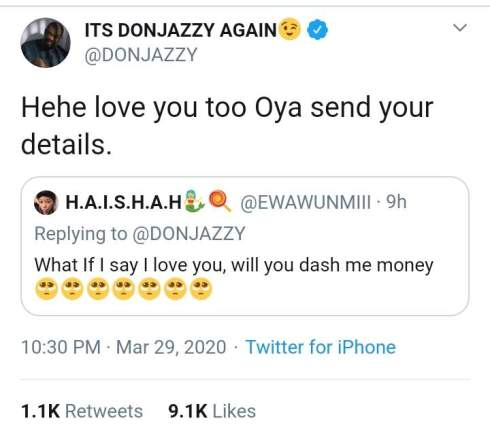 Don Jazzy Bless4
