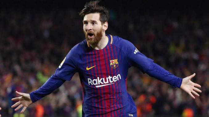 Messi reveals the only player he ever asked to swap shirts