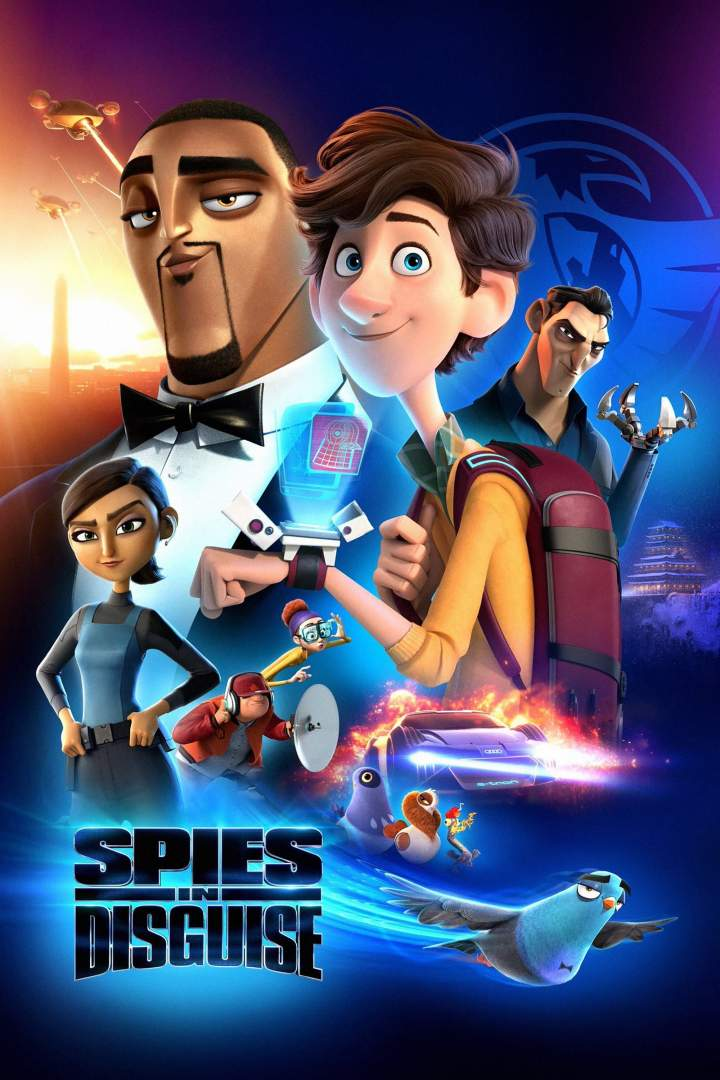 Movie: Spies in Disguise (2019)