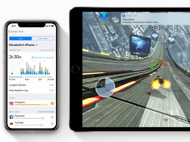 Apple iOS - Anleitungen für das iPhone: Screen Time: Bildschirm
