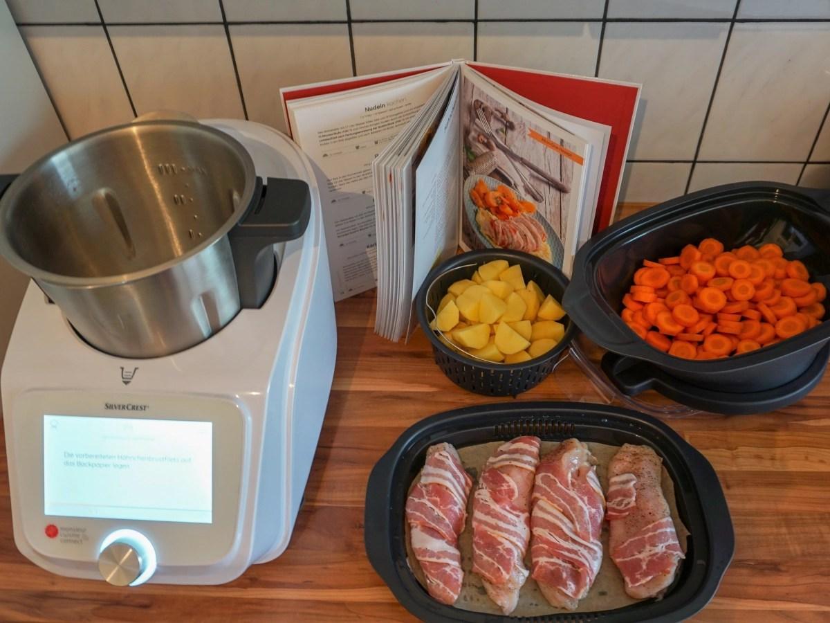 monsieur cuisine connect im test lidl