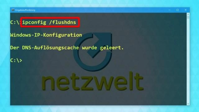 Windows 24: DNS-Cache leeren und Surfspuren verwischen - So geht´s