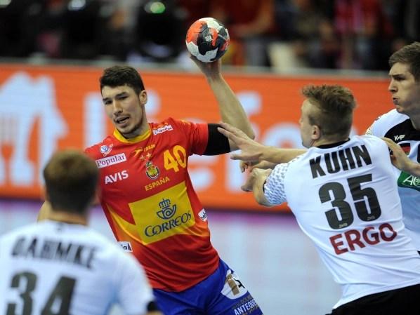 Handball European Championship Spain Against Latvia In Live