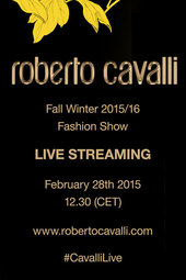 Roberto Cavalli Woman Fashion Show F/W 2015/16