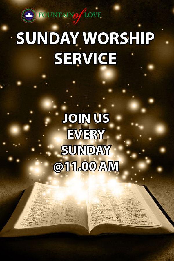 Sunday Worship Service on Livestream