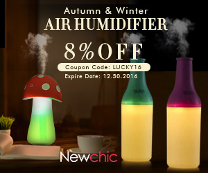 Autumn & Winter Portable Usb Humidifier on newchic