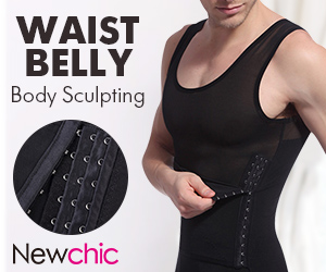 Mens Sexy Waist Cinchers Shapers Body Tank Tops
