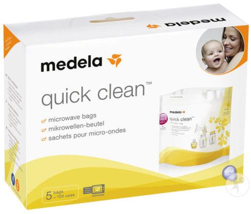 medela quick clean mikrowellen beutel 5 stuck newpharma