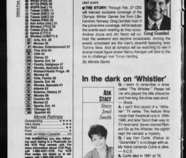 Detroit Free Press From Detroit Michigan On February 13 1994  C2 B
