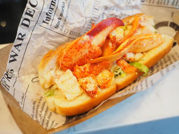 Le Kief 樂吉  波士頓龍蝦堡、松葉蟹堡,一整隻龍蝦夾進三明治裡、松葉蟹肉大爆滿!台灣版的Luke's Lobster-台北大安區捷運忠孝敦化站(附菜單)