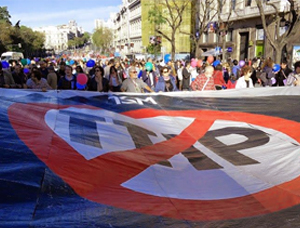 Protests against TTIP in Spain