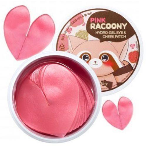 Фото Гидрогелевые патчи для глаз и щек Pink Racoony Hydro ...