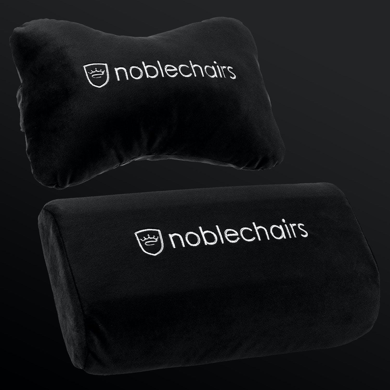 cushion set black white