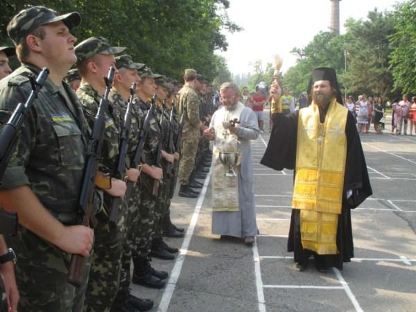 В Николаеве присягнули на верность Родине будущие офицеры ...