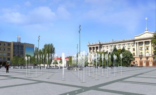Фонтаны на Серой площади в Николаеве откроют 12 октября