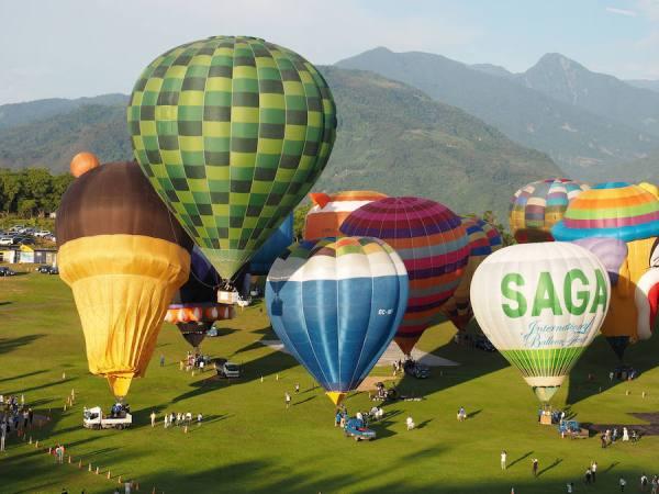 Международный фестиваль воздушных шаров в Тайване. ФОТО