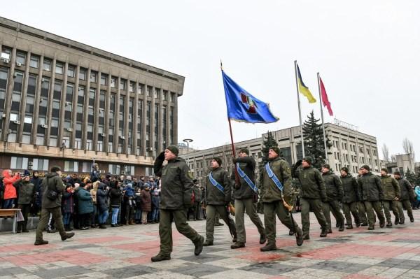 В Запорожье 135 парней и девушек приняли присягу на ...
