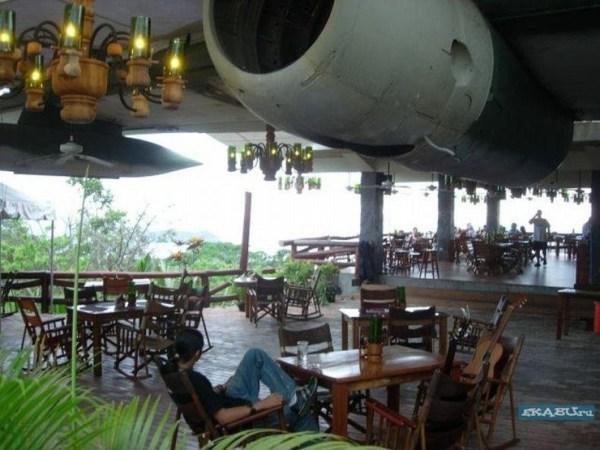 Ресторан из самолета. ФОТО