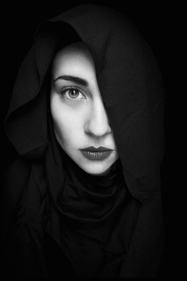 35 потрясающих черно-белых портретов. ФОТО