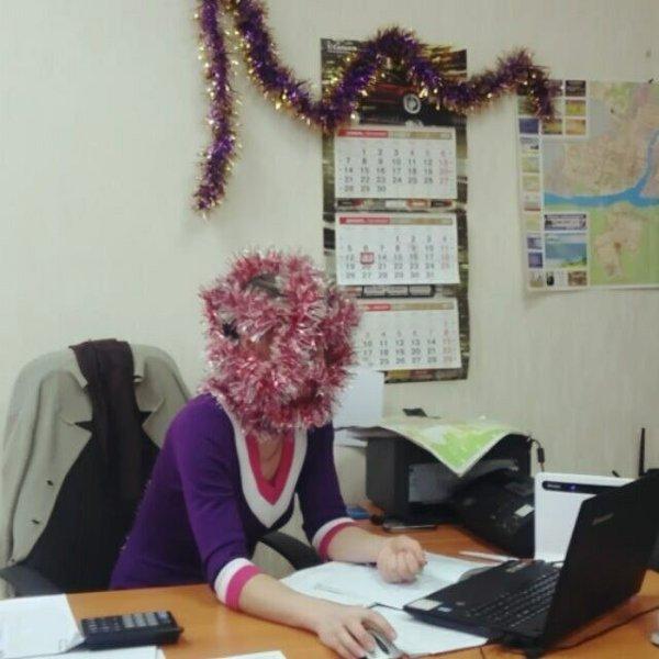 Смешные фото с новогодних корпоративов. ФОТО