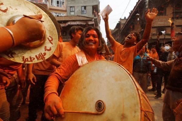 Непальский новый год и праздник «Бискет Джатра» в городе ...