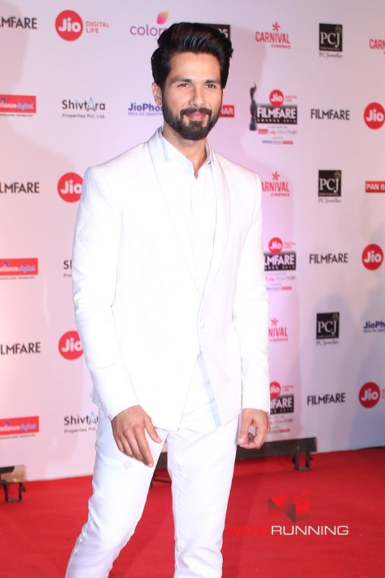 Shahid Kapoor at Filmfare 2018