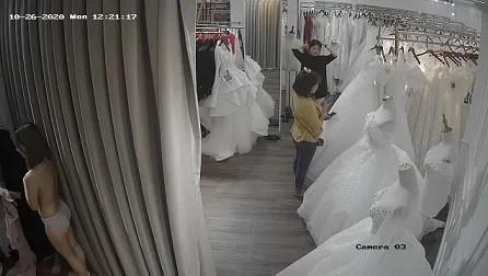 Hacker Camera phòng thay đồ shop thời trang xịn !