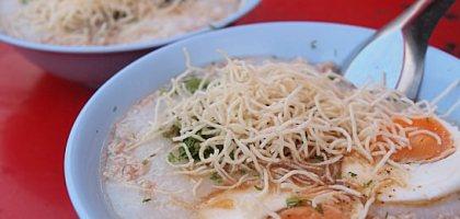 【擺鎮\拜城\pai】阿伯鹹粥 必吃的高人氣早餐 RICE SOUP WITH CHINESE HERB