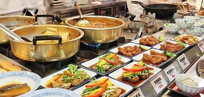 【台北捷運大安森林公園站美食】大安森林食堂 日本最大的庶民連鎖自助餐來了