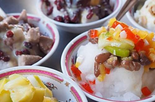 【台南美食】竹門鈺雪冰枝店 白河開業超過五十年的老冰店