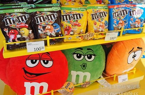 【香港旅遊】m&m's 巧克力 香港機場限定店