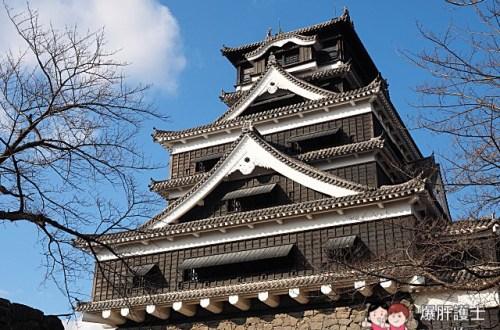 九州熊本必遊 日本三大名城之一熊本城