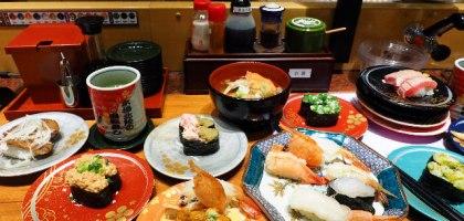 金澤地區的人氣迴轉壽司店 能登前壽司もりもり(Mori mori)一吃就愛上的超值享受
