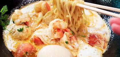 日本、東京|新宿モモンガ 超濃郁的鮮蝦拉麵