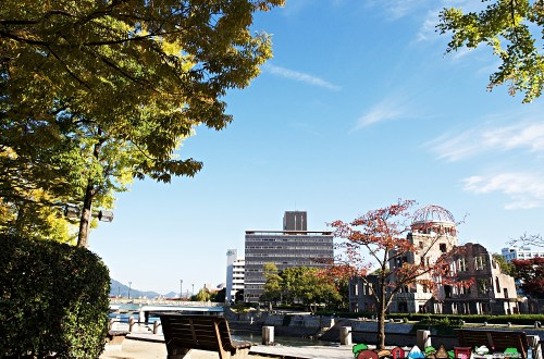 日本、廣島|廣島和平紀念公園&原爆圓頂屋