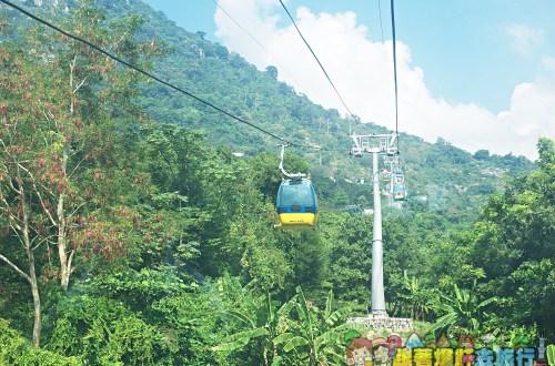 越南、西寧|黑婆山靈山仙石寺 搭登山纜車野餐、睡覺、吃素麵,越南最潮的休閒方式