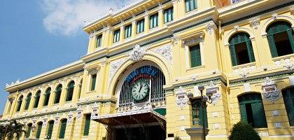 越南、胡志明市|胡志明市中心郵政局–在越南遇見百年歷史的法國郵局
