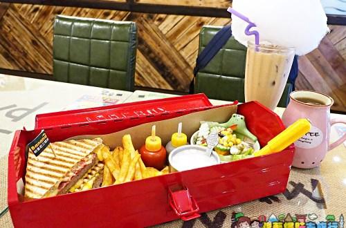 花蓮|Banana芭娜娜比利時華夫餅.水電工套餐的帕里尼、薯條滋味一流